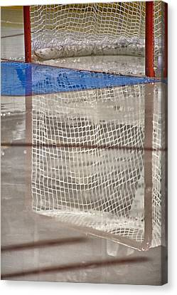 The Net Reflection Canvas Print