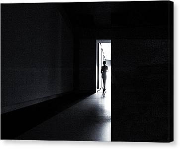 The Never Ending Light Canvas Print by Gerard Jonkman