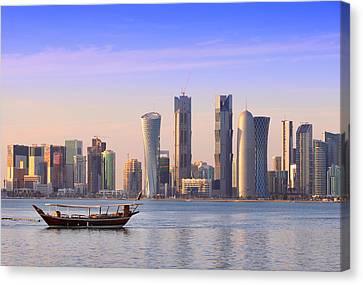 The New Doha Canvas Print by Paul Cowan