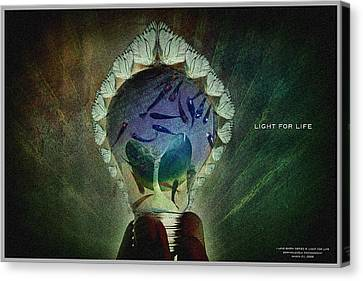 The New Life Canvas Print by Edwin Loyola