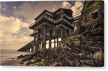 The New Lifeboat House At Tenby  Canvas Print