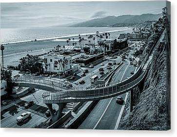 The New P C H Overpass Canvas Print