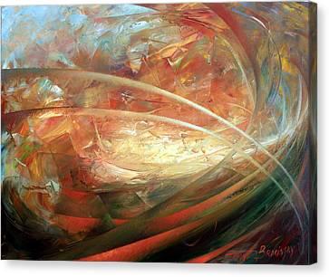 The New Worlds Birth Canvas Print by Arthur Braginsky