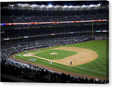 The New Yankee Stadium Canvas Print by Andrew Kazmierski