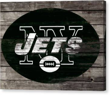 Tebow Canvas Print - The New York Jets 3f by Brian Reaves