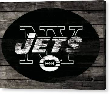 Tebow Canvas Print - The New York Jets 3i by Brian Reaves
