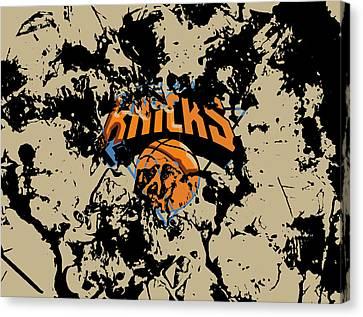 The New York Knicks 1b Canvas Print