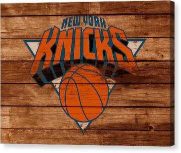 The New York Knicks 3a                        Canvas Print