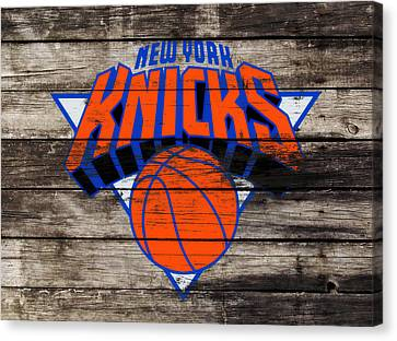 The New York Knicks 3h                       Canvas Print