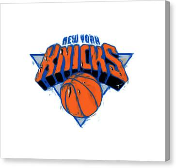 The New York Knicks Canvas Print