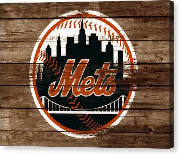 The New York Mets 3a Canvas Print