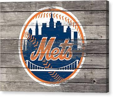 The New York Mets 3c Canvas Print