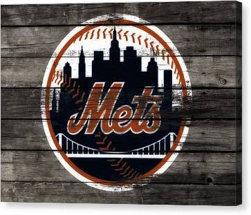 The New York Mets 3e Canvas Print