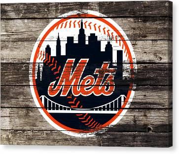 The New York Mets 3f Canvas Print