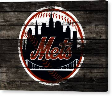 The New York Mets 3j Canvas Print