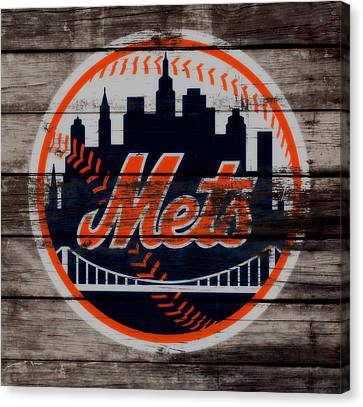 The New York Mets C3 Canvas Print