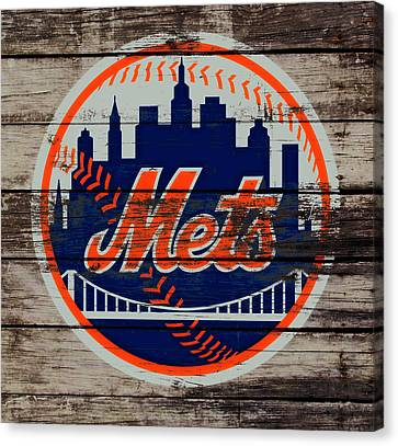 Shea Stadium Canvas Print - The New York Mets C5 by Brian Reaves