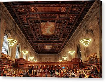 The New York Public Library Canvas Print by Jessica Jenney