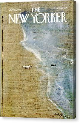 The New Yorker Cover - July 10th, 1978 Canvas Print