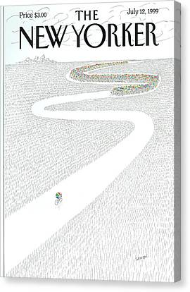 The New Yorker Cover - July 12th, 1999 Canvas Print