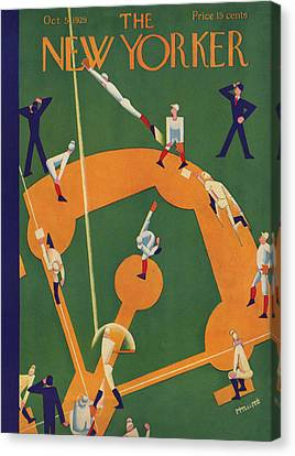The New Yorker Cover - October 5th, 1929 Canvas Print