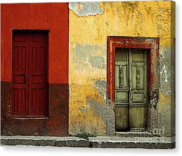 The Next Door Canvas Print by Mexicolors Art Photography