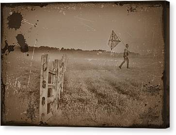 The Night They Drove Old Dixie Down Canvas Print by Bill Cannon