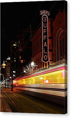 The Night Train Canvas Print