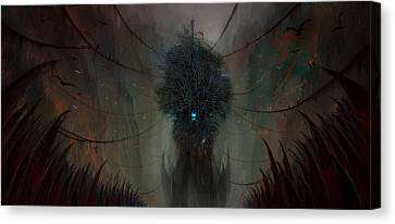 The Nightmare Factory Canvas Print by Philip Straub