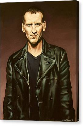 The Ninth Doctor Canvas Print by Emily Jones