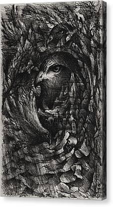 The Ninth Hour Canvas Print