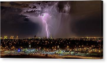 The North American Monsoon Canvas Print