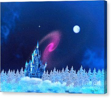 The North Pole Canvas Print by Corey Ford