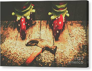 Magic Canvas Print - The North Pole Toy Factory by Jorgo Photography - Wall Art Gallery
