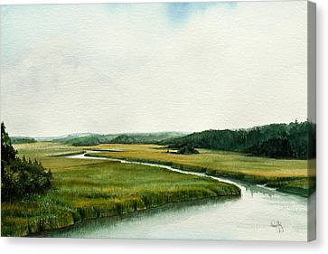The North River Canvas Print