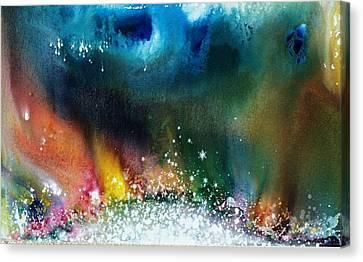 The Northern Lights Of Andromeda Canvas Print by Lee Pantas