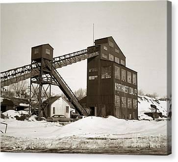 The Northwest Coal Company Breaker Eynon Pennsylvania 1971 Canvas Print