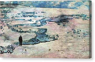 The Nowhere Man By Mary Bassett Canvas Print