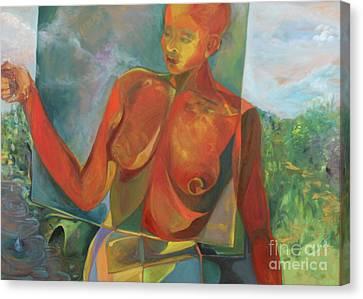 The Nurturer Canvas Print