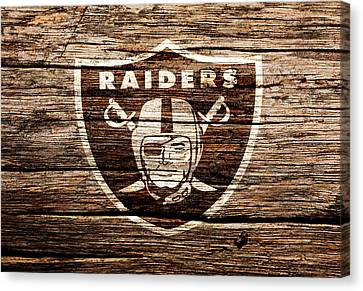 The Oakland Raiders 1f	 Canvas Print