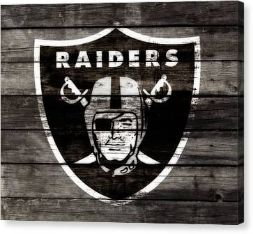 The Oakland Raiders 3a	 Canvas Print