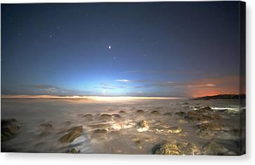 The Ocean Desert Canvas Print