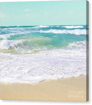 Canvas Print featuring the photograph The Ocean by Sharon Mau