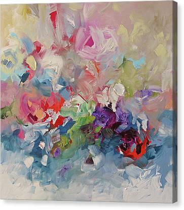 The Ocean Wild Canvas Print by Linda Monfort