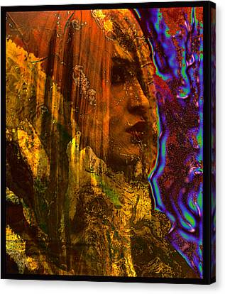 The Offworlder Canvas Print by Adam Kissel