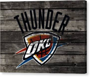 The Oklahoma City Thunder W8           Canvas Print