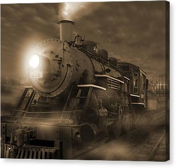 The Old 210 Canvas Print by Mike McGlothlen
