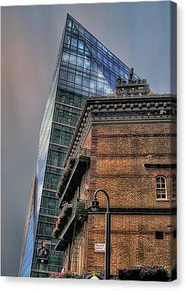 The Old And The New Canvas Print by Jim Hill