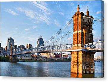 The Old And The New Canvas Print by Mel Steinhauer