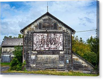 The Old Barn Canvas Print by Andrew Kazmierski